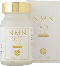NMNピュア3000 60粒 NMN β-ニコチンアミドモノヌクレオチド 3000mg 配合