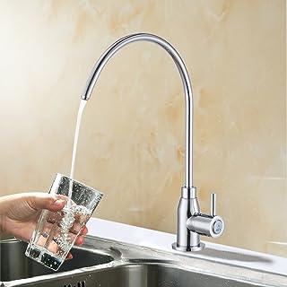 科士力 厨房水龙头 纯净水龙头 全铜 单冷水龙头 家用直饮水净水龙头 Z103C(亮银款)