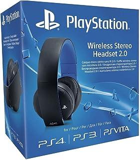 Sony Wireless 2.0 Stereo Diadema Negro, Azul Auricular con micrófono - Auriculares con micrófono (Diadema, Negro, Azul, Digital, 3,5 mm, Circumaural, Cerrado)