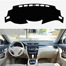 Salusy Black Dashboard Dash Protector Dash Mat Sun Cover Pad Compatible with Nissan Rogue X-trail 2014 2015 2016 2017 2018 2019/Nissan Rogue Sport SUV 2017 2018 2019 2020
