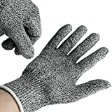 Cut Resistant Gloves - High Performance Level 5 Protection,Knife Cut Proof Gloves