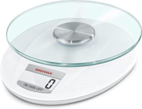 Soehnle 2046524 Roma Balance de Cuisine Electronique Plastique 19 x 16 x 3,5 cm