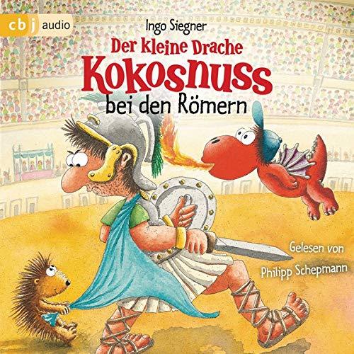 Der kleine Drache Kokosnuss bei den Römern Audiobook By Ingo Siegner cover art