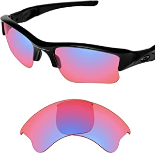 Performance Lenses Compatible with Oakley Flak Jacket XLJ - HD Trail Ruby