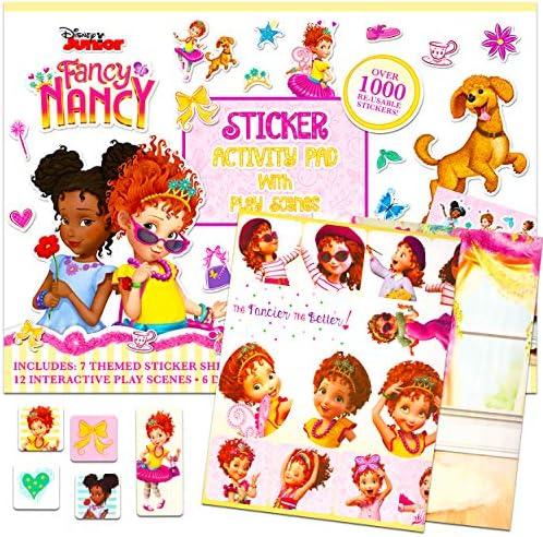 Disney Fancy Nancy Sticker Pad for Girls Kids Giant Fancy Nancy Sticker Book with Over 1000 product image