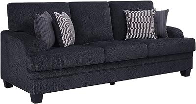 Amazon.com: Casamode Rio Grande Sofa Bed Beige Chenille ...