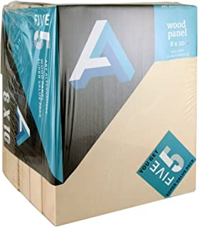Art Alternatives Wood Panel Super Value Gallery 8x10 Pack of 5