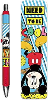 Disney Mickey Mouse Gel Pen and Bookmark Set (Mickey Mouse Office Supplies)