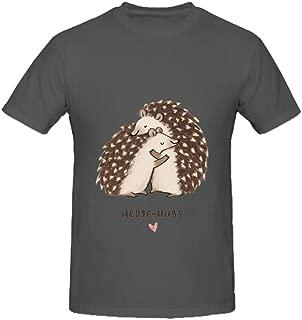 Hedgehugs Mens Crew Neck Short Sleeve T Shirt