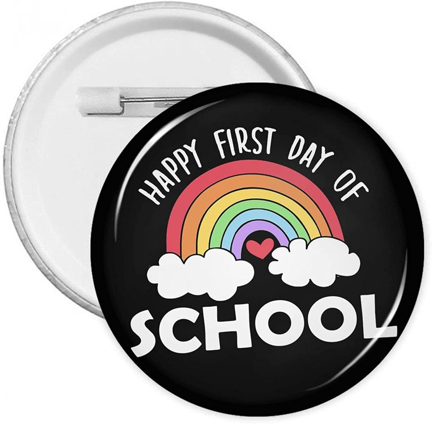 Rainbow Outlet sale feature Ranking TOP7 Happy First Day Of School Round Badges Pins Button With