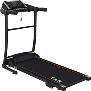 Everfit Home Treadmill 2HP Electric Running Exercise Machine 3-Level Manual Incline 100KG Capacity LCD Display Foldable Ca...