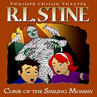 Curse of the Smiling Mummy audiobook cover art