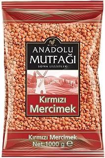 Anadolu Mutfağı Kırmızı Mercimek 1000 Gr