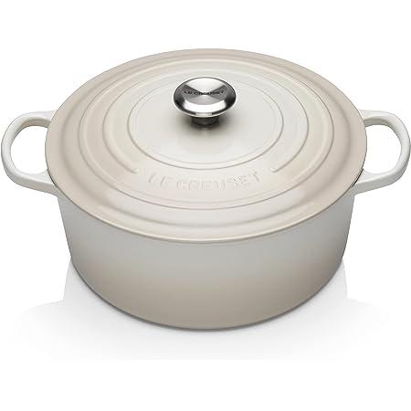 Le Creuset Enameled Cast Iron Signature Round Dutch Oven, 7.25 qt., Meringue