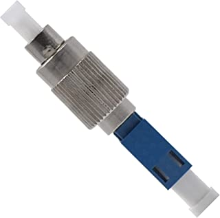 Fiber Optic LC to FC Adapter Singlemode UPC Simplex - 1 Pack - Beyondtech Visual Fault Locator (VFL) LC Female Coupler
