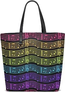 Colorful Ocean Tote Bag Purse Handbag Womens Gym Yoga Bags for Girls