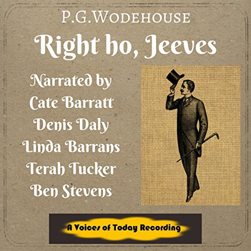 Right Ho, Jeeves! audiobook cover art