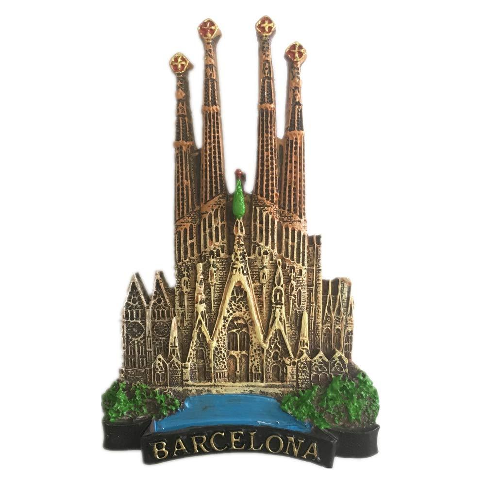 Weekinglo Souvenir Imán de Nevera Catedral de la Sagrada Familia ...