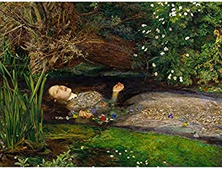 John Everett Millais Ophelia Impression sur toile de qualité supérieure Décoration murale