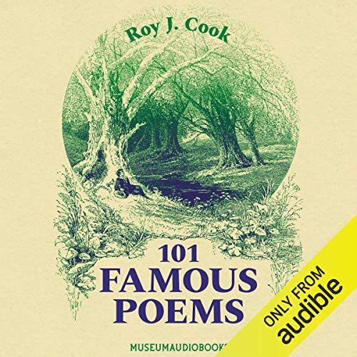 101 Famous Poems audiobook cover art