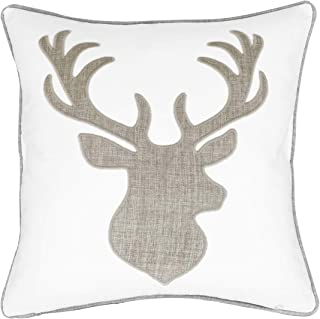 Best embroidered deer pillow Reviews