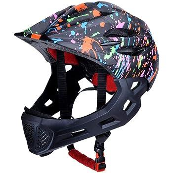 Nrkin Casco Bicicleta Niños Casco Infantil para BMX, Patinaje, Ciclismo, Monopatín, Scooter (Edades 3-10) Carefully Fine: Amazon.es: Deportes y aire libre