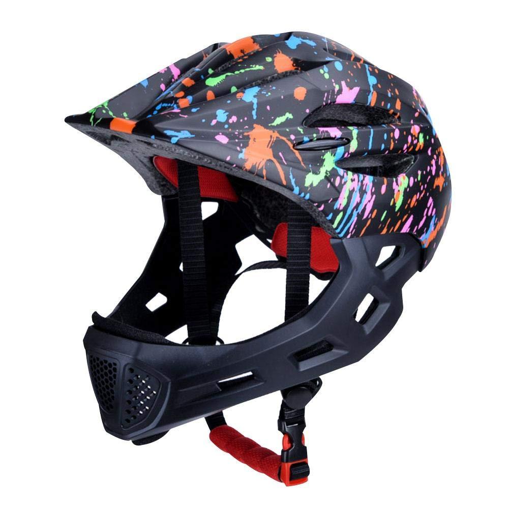 Casco Deportivo Multiusos para niños, Bicicleta Completa y Patines con Luces traseras Casco Deportivo de Seguridad Duradero para niños Unisex: Amazon.es: Hogar