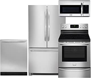 Frigidaire 4-Piece Smudge-Proof Stainless Steel Set, FGHN2866PF 36
