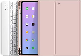 Aoub iPad Keyboard Case 9.7 with Pencil Holder for iPad 2018 6th Generation/iPad 2017 5th Generation/iPad Air 2/Air1-Auto ...