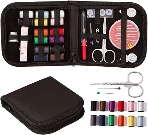 SAYGOGO Sewing Kit, Multi-Function Sewing Kit, Portable Sewing Box Set, Needle Set for Home, Travel and Emergency, Be...