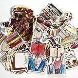 DSSK Girl Book Set Stickers Crafts and Scrapbooking Stickers Book Student Label Sticker Decorativo Niños Juguetes 19Pcs