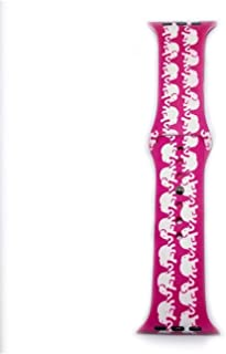 MB2WATCHSLIDER Lilly Pulitzer Inspired Apple Watch Band (Tusk in The Sun 42/44mm)