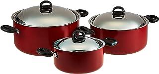 Prestige Cooking Pot 6 pc Set PR20915, Multi Color