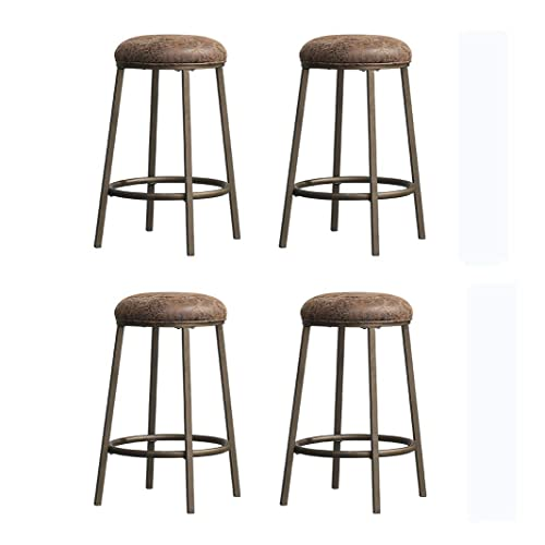 Incredible Round Upholstered Bar Stools Amazon Com Uwap Interior Chair Design Uwaporg