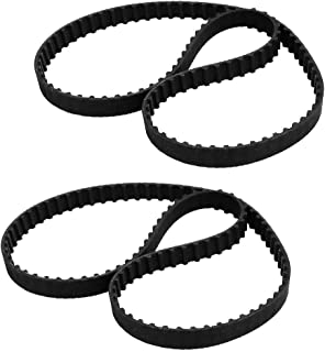 New Lon0167 202XC 101 Featured Teeth Synchronous Closed reliable efficacy Loop Rubber Timing Belt 10mm Width 518mm Perimet...