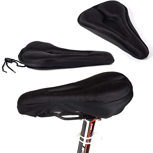 Spanking G1 3D Silicone Gel Pad Seat Saddle Cover (Black)
