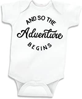 Threadrock Baby If You Mustache I/'m The Big Cousin Infant Bodysuit Family