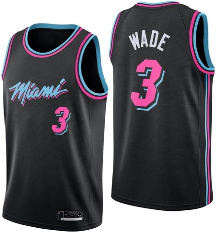 Dwyane Wade,Basketball Jersey,Miami Heats, New Fabric Embroidered,Swag Sportswear
