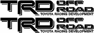 TRD Truck Off Road Racing Tacoma Vinyl Decal Sticker(2X 3
