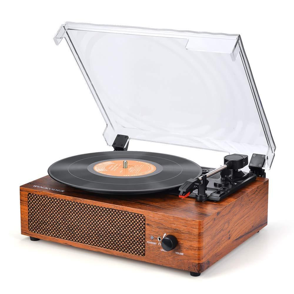 Record Player Turntable Speaker Vintage