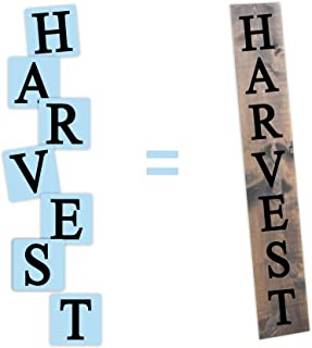 happy harvest stencil