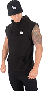 Men's Workout Bodybuilding Muscle Sleeveless Hoodies 510