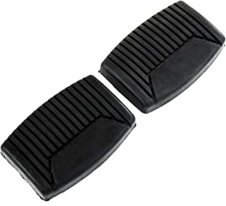 Red Hound Auto Compatible with Ford Truck F150 F250 F350 1964-2008 Brake Clutch Pedals Pad Manual Transmission