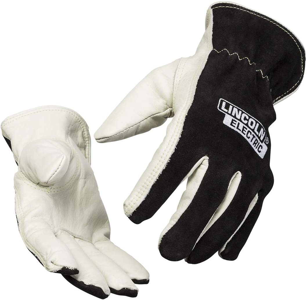 Lincoln Electric Welders Leather Max 75% OFF Drivers Gloves Grain Top Sp Fort Worth Mall