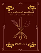 just addmagic cookbook with the recipes and riddles and spices