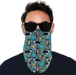 Men Women Face Bandana with Ear Loops Neck UV Gaiters Balaclava Summer Cooling Breathable for Motorcycle Workout Outdoors,...