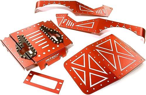 Integy RC Model Hop-ups C27671rot Aluminum Alloy Body Panel Kit for Axial 1 10 Wraith Rock Racer