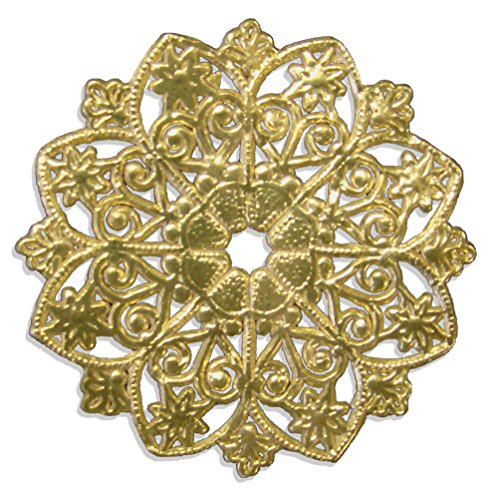 Kunze, Kerzen Manschette, 8 Stück, Ø 5 cm, Gold