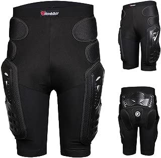 HEROBIKER - Pantalones de protección para Motocicleta, Motocross y esquí, diseño de Hockey Knight