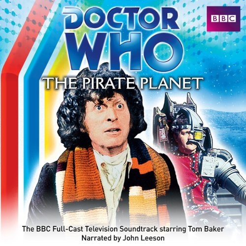 Doctor Who: The Pirate Planet audiobook cover art